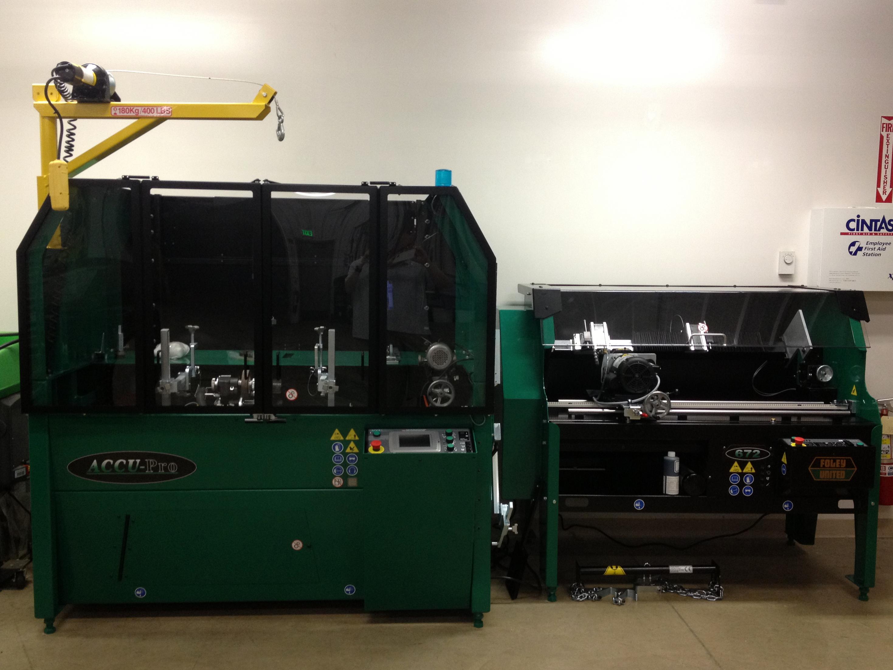 Reel Grinding Equipment